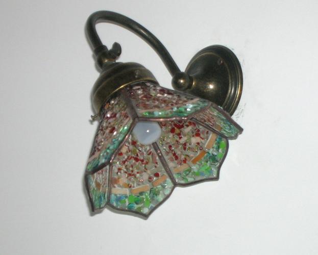 ... Lampadari Tiffany Oggetti in vetro Vetrofusione sabbiatura Viterbo